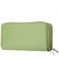 Milano Dual Zip Clutch Wallet