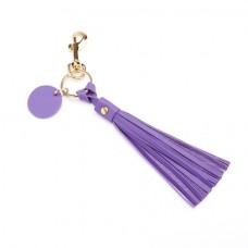 606-5 Leather Tassel Key Fob