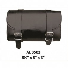 Small Plain Leather Tool bag.