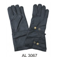 Premium Leather Lined Riding Gloves With A Snap Closure